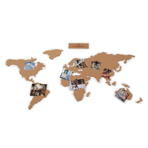 Cork board adhesive world map travel candi gumiabroncs Images