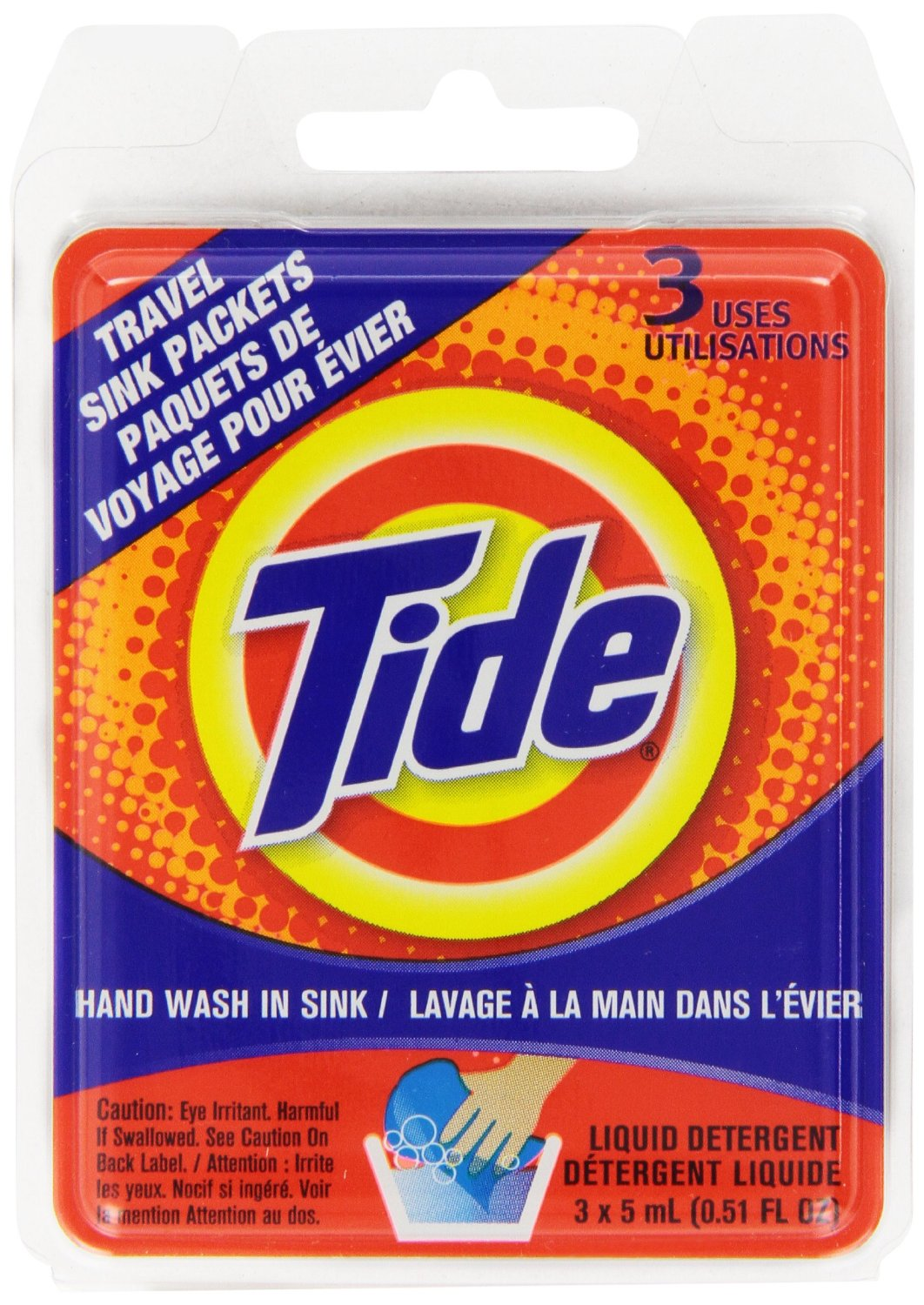 Tide Travel-Size Laundry Detergent | Travel Candi